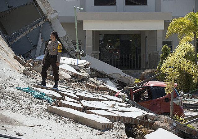 印尼地震遇難人數上升至30人 156人受傷
