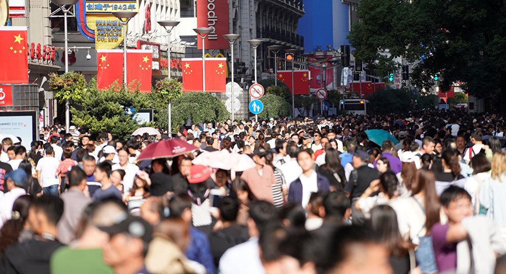 中國遊客在上海