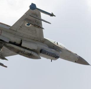 以色列空軍的F-16 D