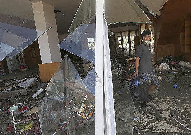 聯合國撥款1500萬美元幫助印尼救災