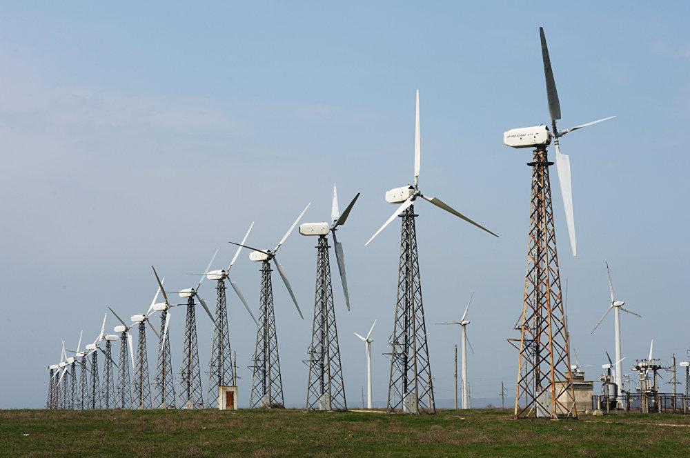 风力发电厂