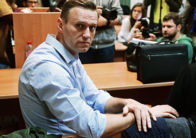 俄反對派人士納瓦利內被判拘留20天