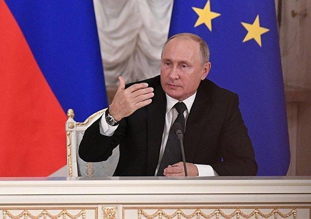 普京:俄羅斯將繼續同土耳其在敘開展聯合行動