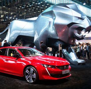 標誌 508 GT亮相巴黎車展開幕式