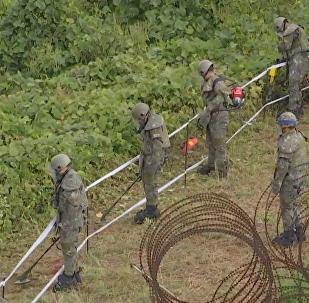 朝韓開始沿邊境移除地面炸彈