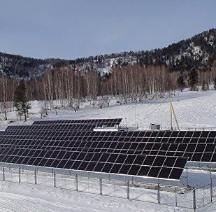 太陽能電站