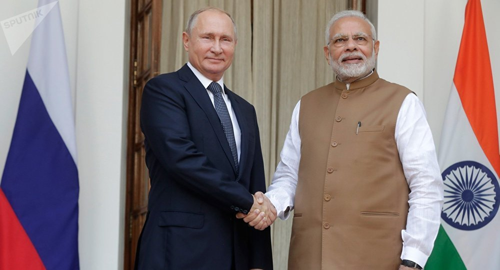 印駐俄大使:莫迪期待與普京在G20峰會期間舉行會晤