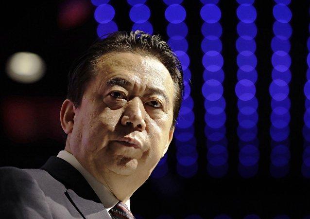 中国政府消息称,国际刑警组织主席、中国公安部副部长孟宏伟涉嫌违法,目前正接受调查