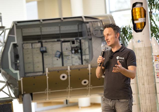 德国宇航员马蒂亚斯·毛雷尔