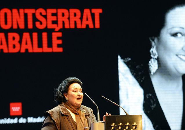 世界著名女高音歌唱家蒙特塞拉特•卡巴耶去世