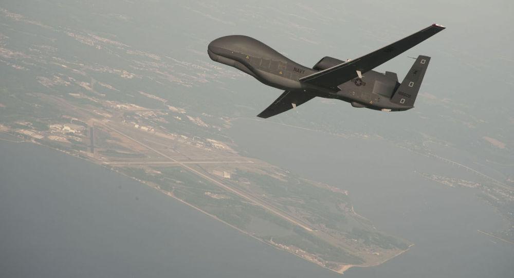 美国无人机在顿巴斯进行侦察