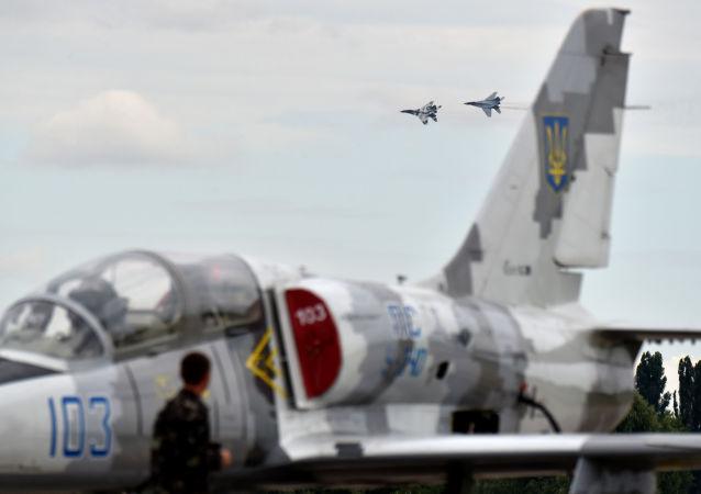 空軍演習在烏克蘭啓動