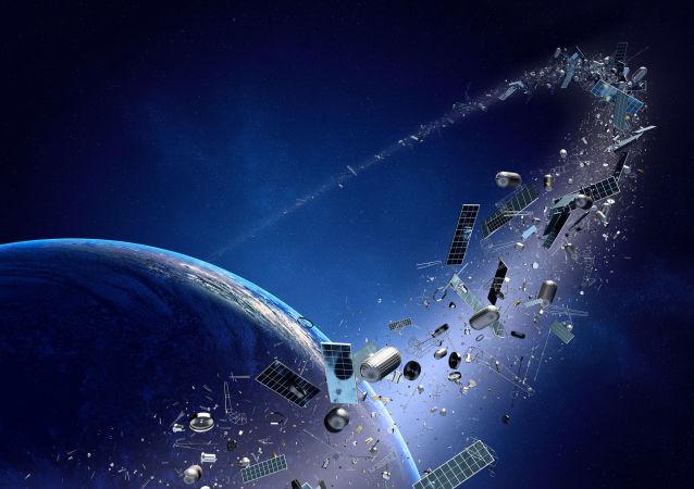 俄科學院4月將開會討論如何應對太空垃圾