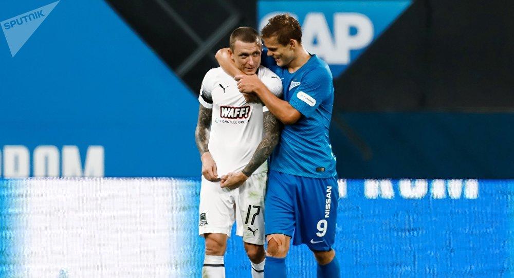 俄克拉斯诺达尔俱乐部将对参与斗殴的球员停训并考虑与其解约