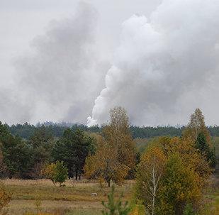 烏克蘭國防部:切爾尼戈夫州火災後已加強對全國軍火庫保護