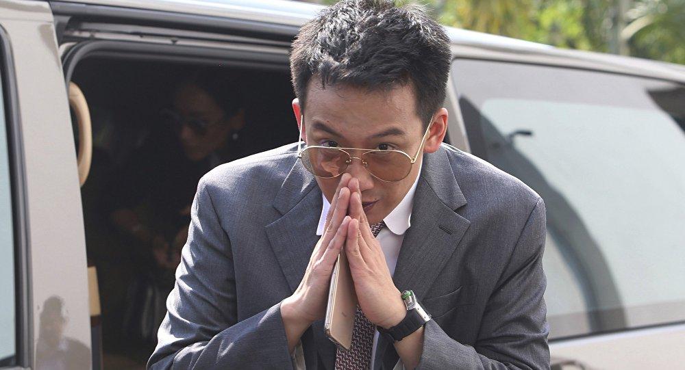 泰国前总理他信之子