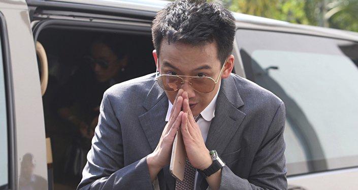 泰國前總理他信之子