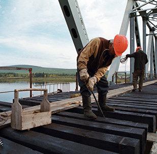 铁路桥梁建设