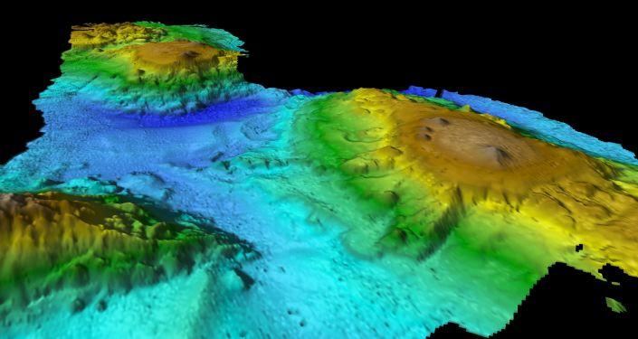 """在太平洋海底发现""""失落的世界"""""""