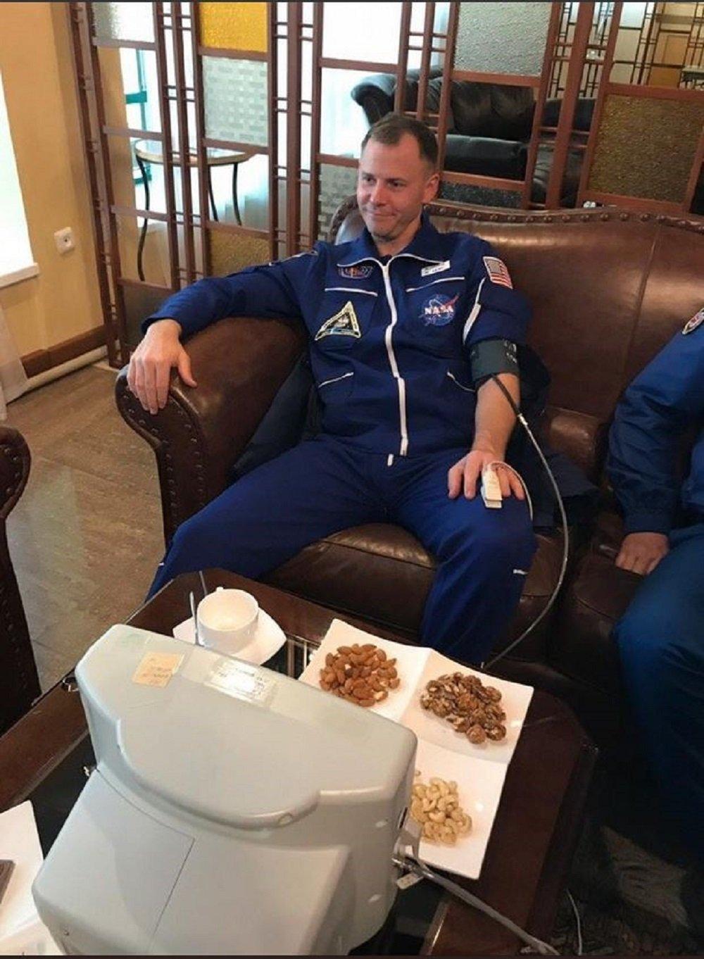 美國宇航員尼克·黑格