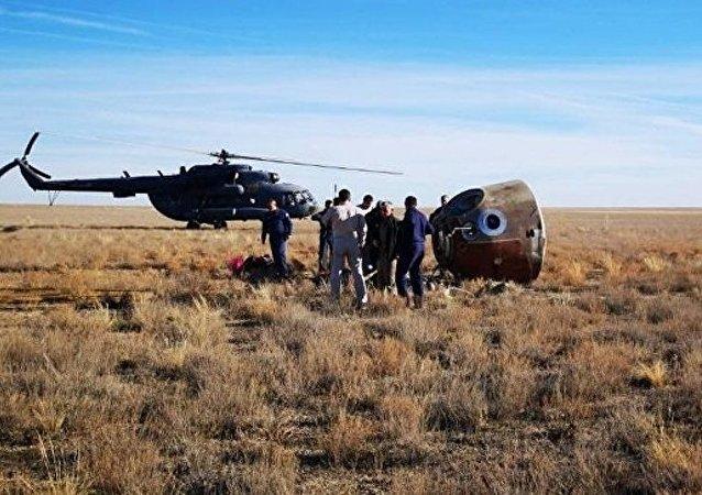 联盟号宇航员已经返回拜科努尔