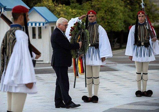 希臘總統對德國總統稱打算要求佔領賠償
