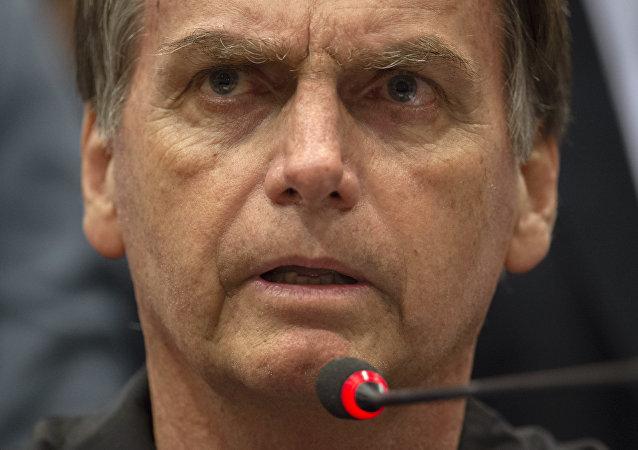 巴西总统候选人博尔索纳罗
