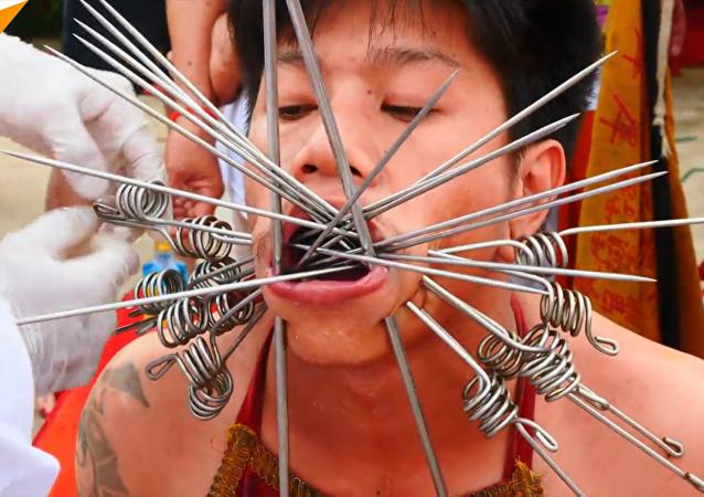 泰国极端素食节