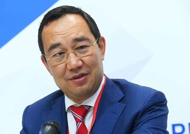 俄羅斯薩哈共和國(雅庫特)領導人艾桑·尼古拉耶夫