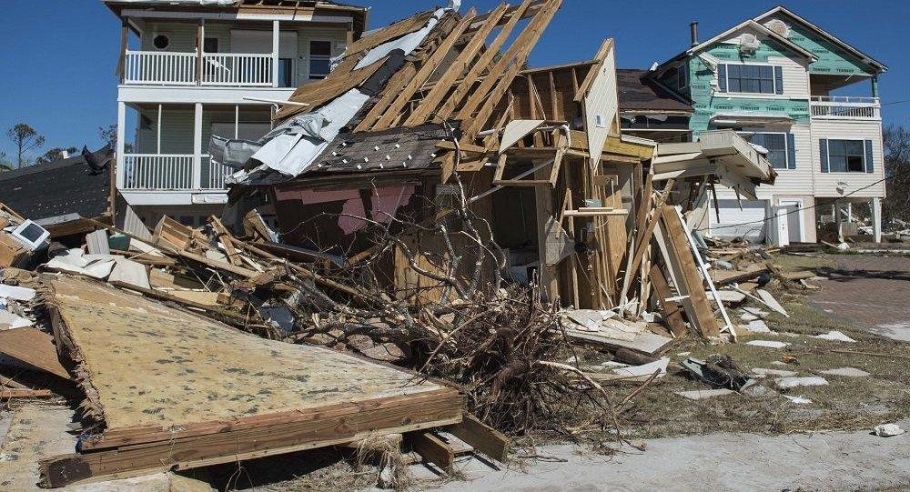 美国飓风迈克尔造成死亡人数升至17人