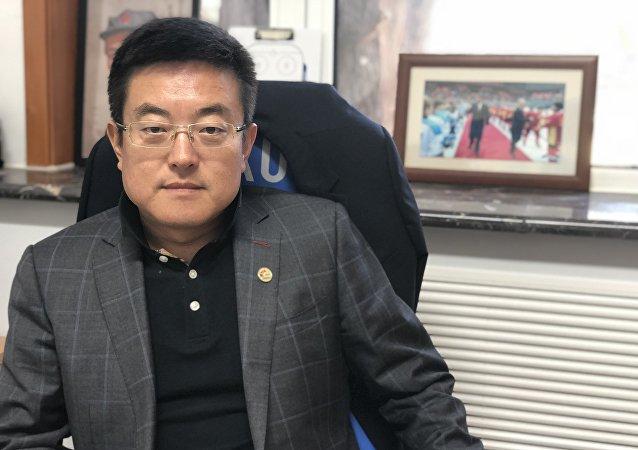 中国冰球协会常务副秘书长徐成响