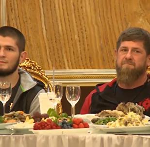 哈比布·努曼戈莫多夫獲封格羅茲尼榮譽市民