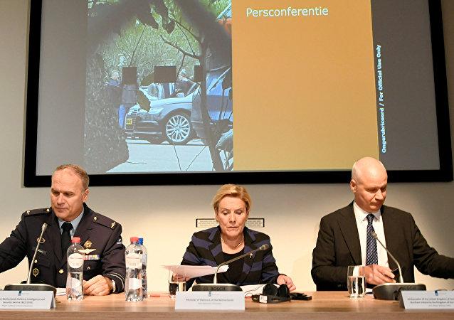 荷蘭國防部長表示荷蘭與俄羅斯正進行網絡戰
