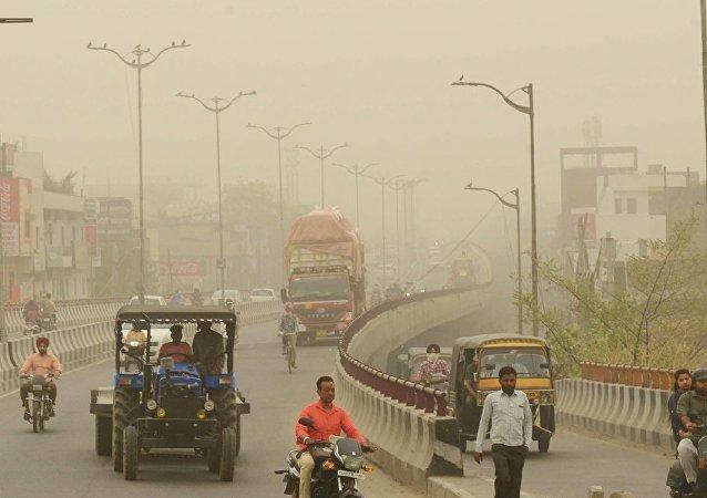 新德里政府首次計劃借助人工降雨治理大氣污染