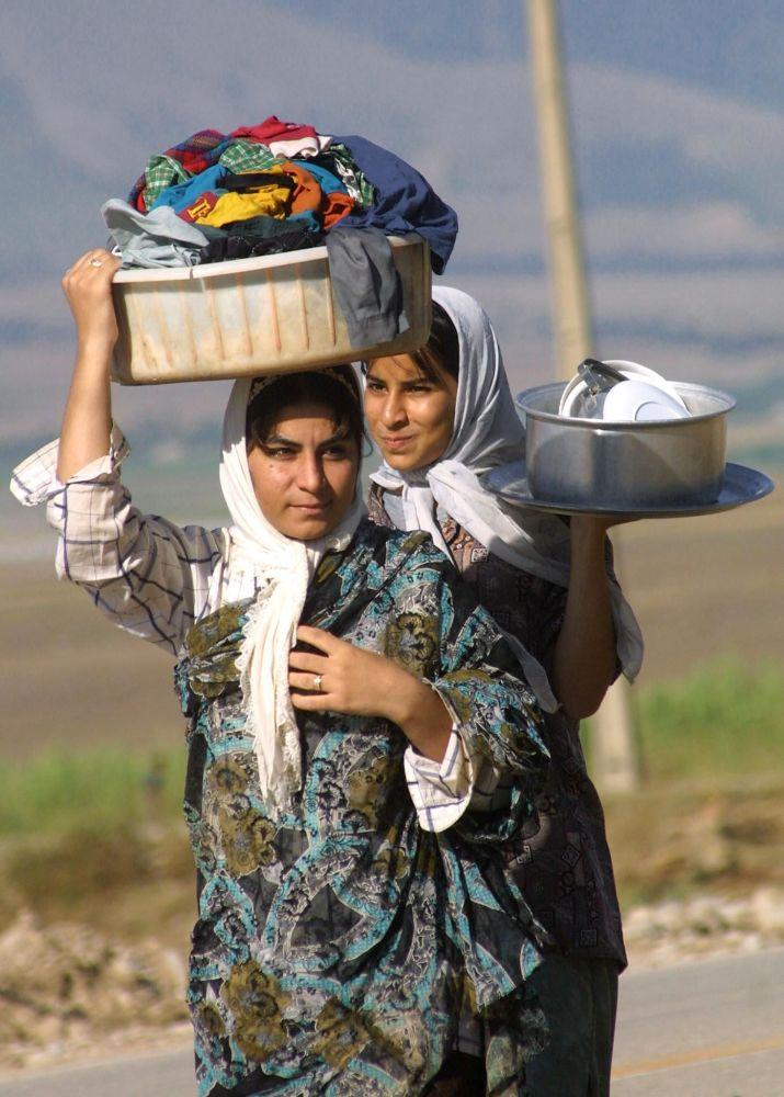 农村妇女的美