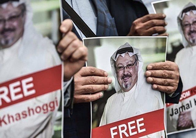 美沙元首就沙特記者失蹤案進行討論