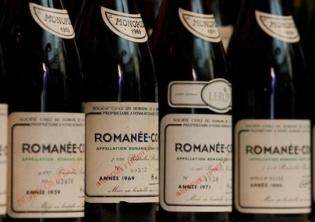 勃艮第羅曼尼康帝酒