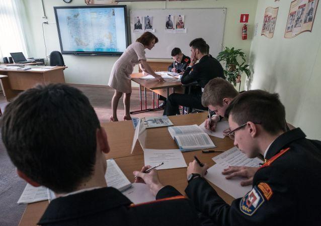 俄中部軍區:漢語被列入圖瓦共和國首府武備學校必修課