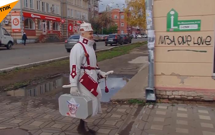 俄罗斯最潮老爷爷
