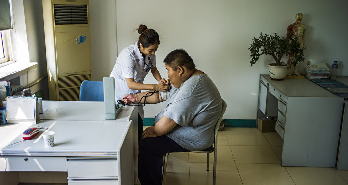 压力使然 : 中国人为何发胖?