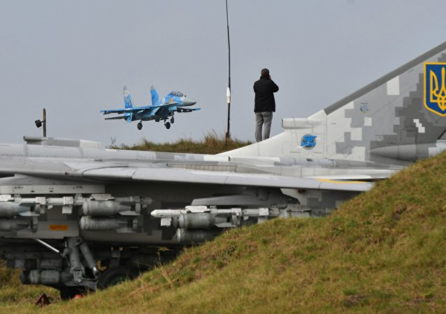 空軍的蘇-27戰機