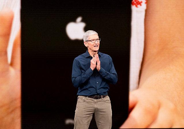苹果公司首席执行官蒂姆·库克
