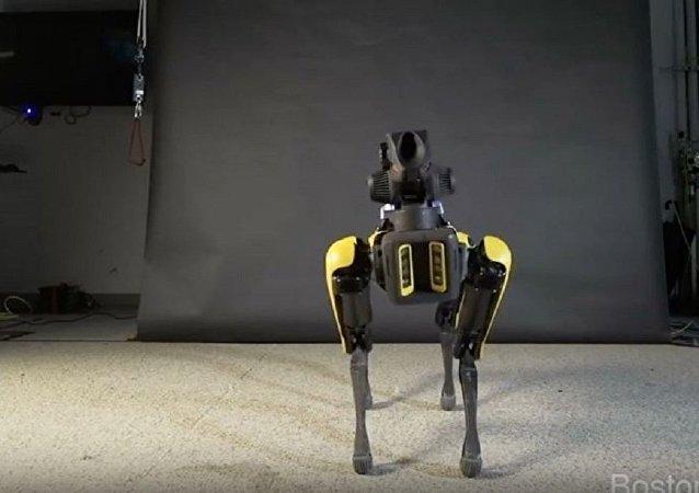 波士顿动力公司教机器人跳舞