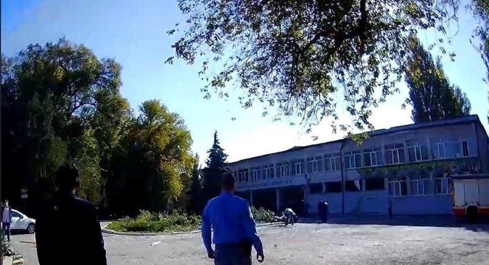 克里米亞刻赤市理工技校發生爆炸