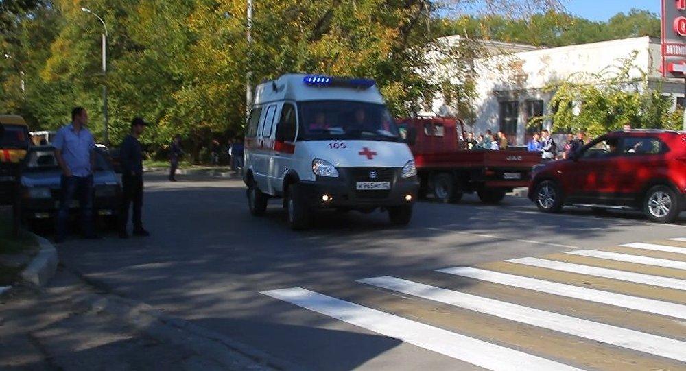 俄克里米亞校園槍襲案死亡人數升至20人