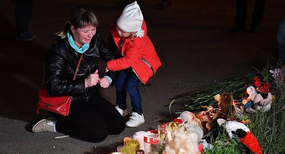 俄刻赤市政府:該市爆炸事件4名遇難者得到辨認 其中3名兒童