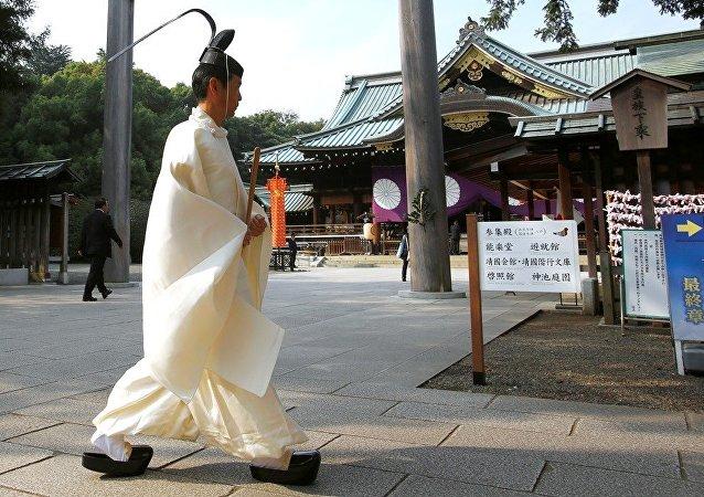 70名日本議員參拜象徵軍國主義的靖國神社