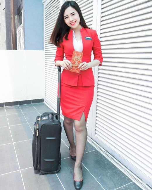 馬來西亞亞洲航空公司空姐