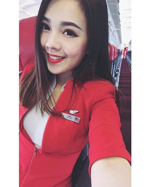 世界上最漂亮空姐的芳顏