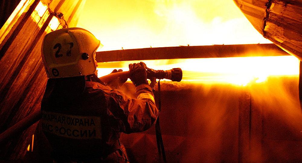 俄弗拉季高加索電鍍廠火災過火面積擴大至4500平方米